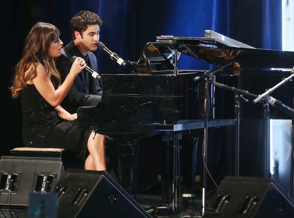 Lea Michele, Darren Criss