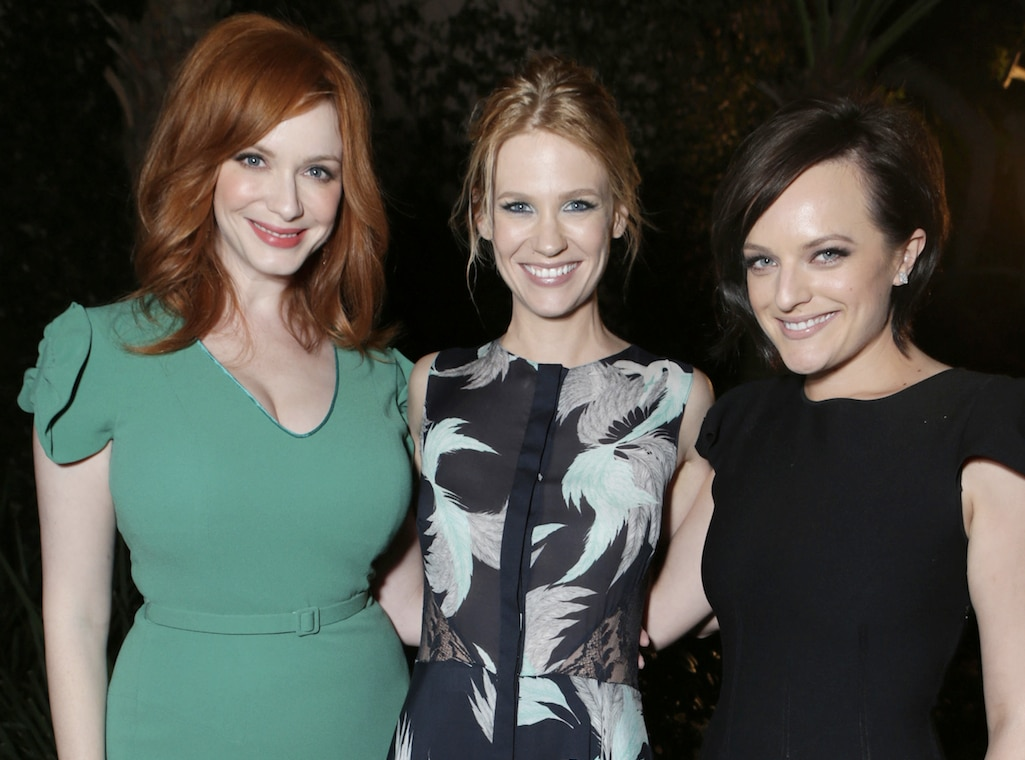 Christina Hendricks, January Jones, Elisabeth Moss