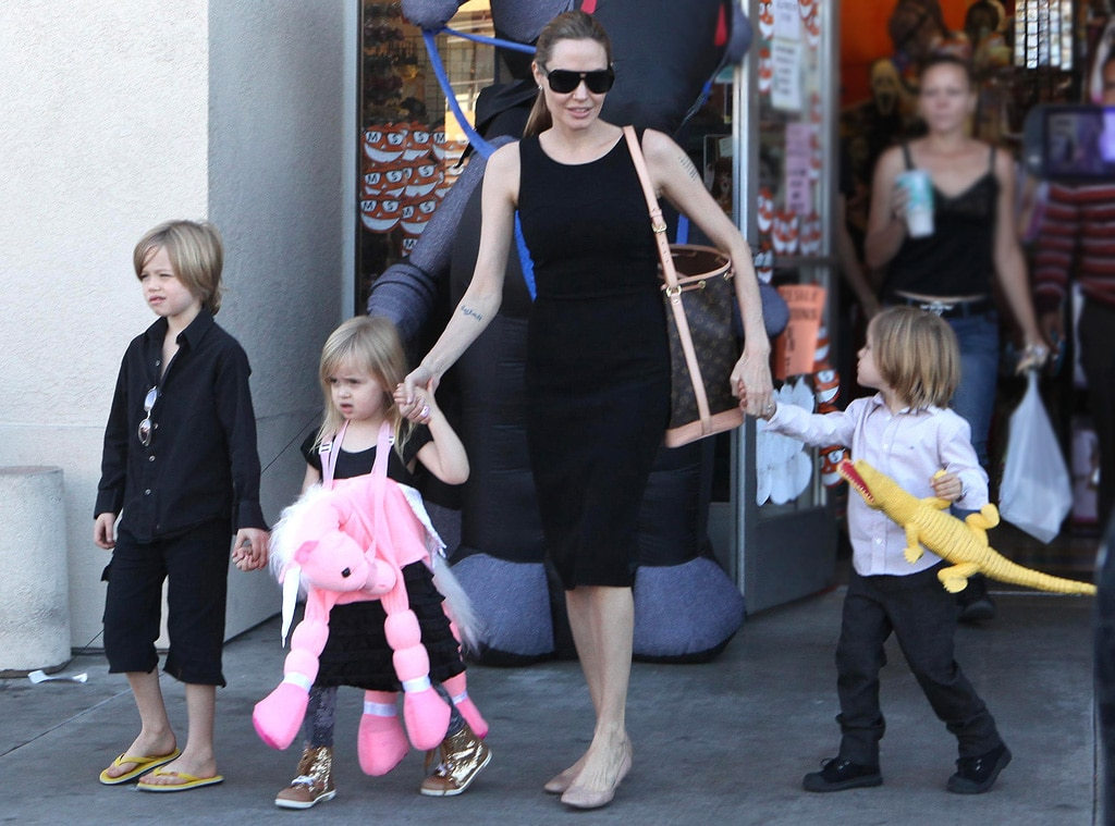 Angelina Jolie, Shiloh, Knox, Vivienne