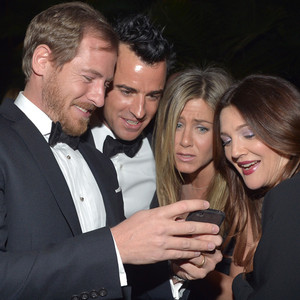 Will Kopelman, Justin Theroux, Drew Barrymore, Jennifer Aniston