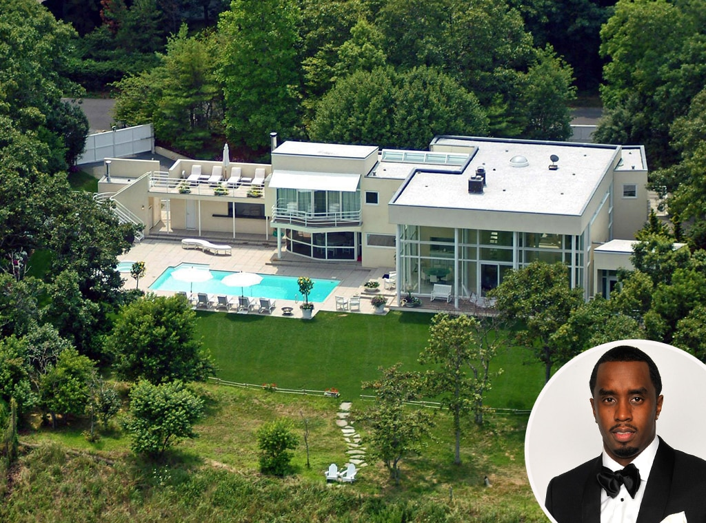 Sean diddy combs from celebrity homes in the hamptons e for Celebrity homes in florida