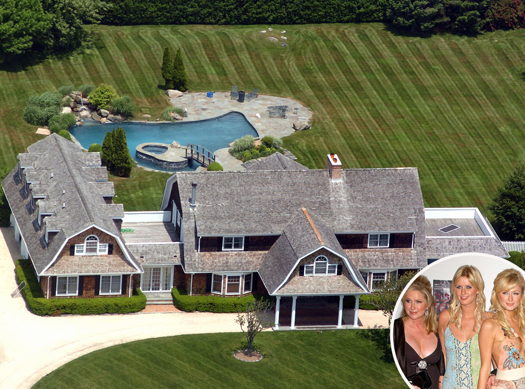 The Hiltons From Celebrity Homes In The Hamptons E News
