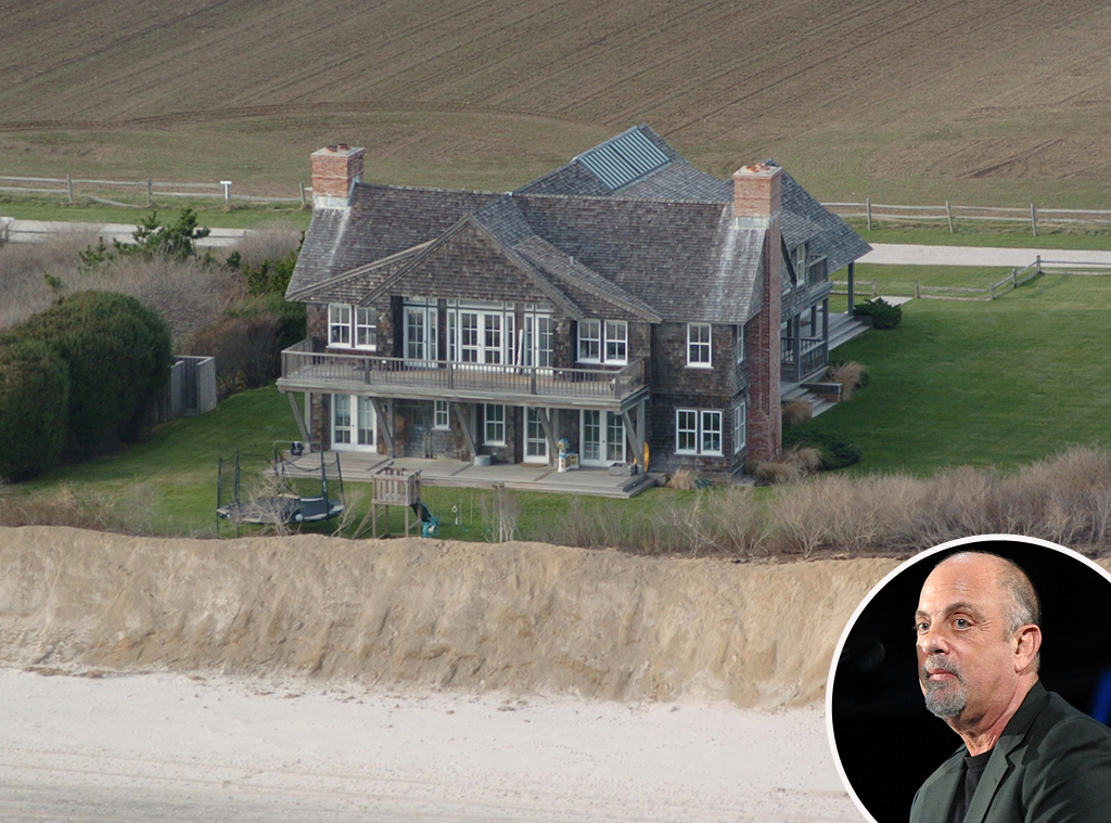 Billy joel from celebrity homes in the hamptons e news for Celebrity homes in the hamptons