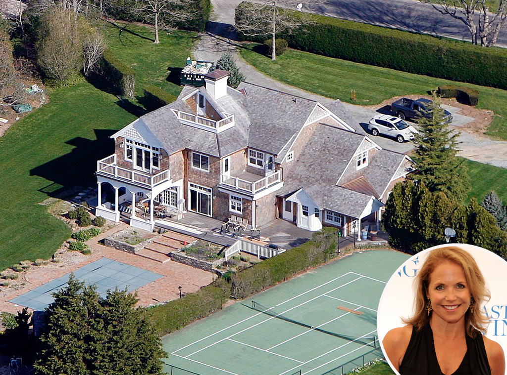 Katie Couric, Celeb Home