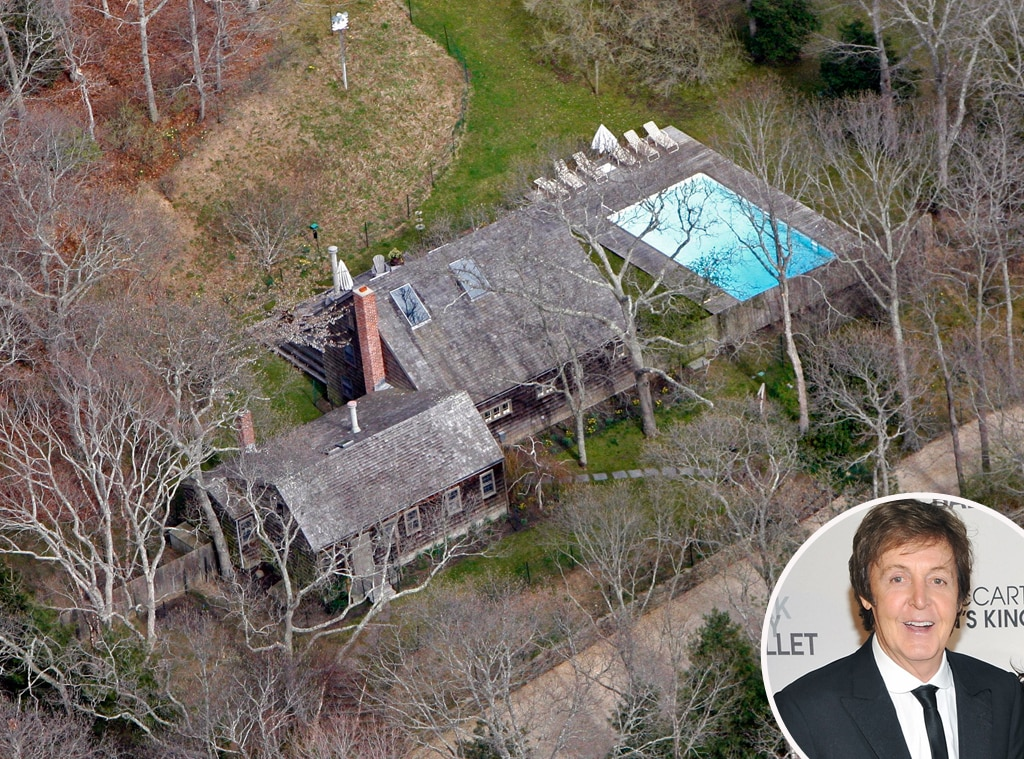Paul McCartney, Celeb Home