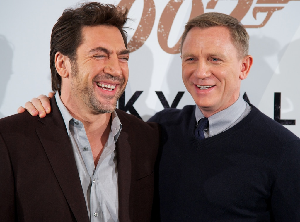 Javier Bardem & Daniel Craig From The Big Picture: Today's