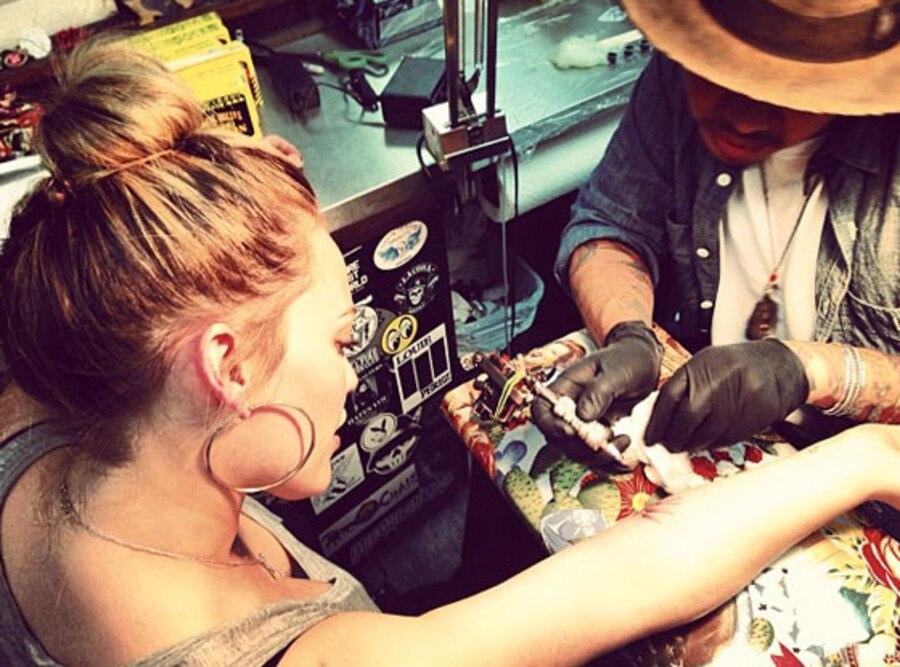 Hilary Duff Tattoo