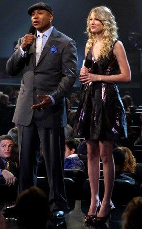 Rapper LL Cool J, Taylor Swift