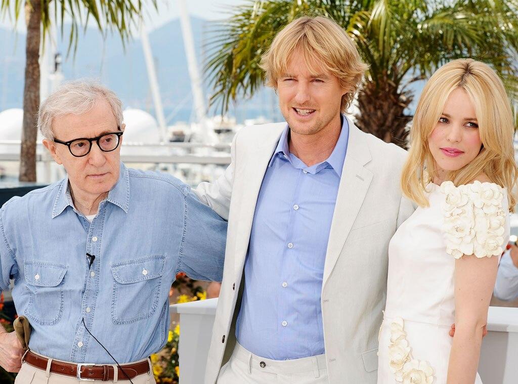 Owen Wilson, Woody Allen, Rachel McAdams