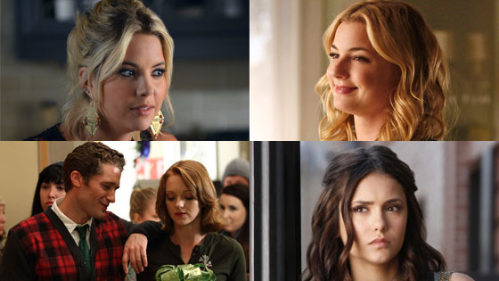 Spoiler Alert, Matt Morrison, Jayma Mays, Glee Ashley Benson, Pretty Little Liars Nina Dobrev, The Vampire Diaries
