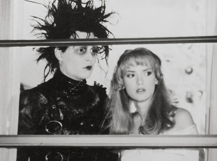 Winona Ryder, Johnny Depp, Edward Scissorhands