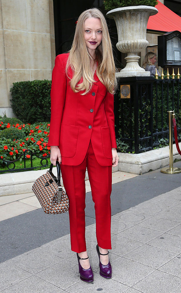 Amanda Seyfried, Paris Fashion Week