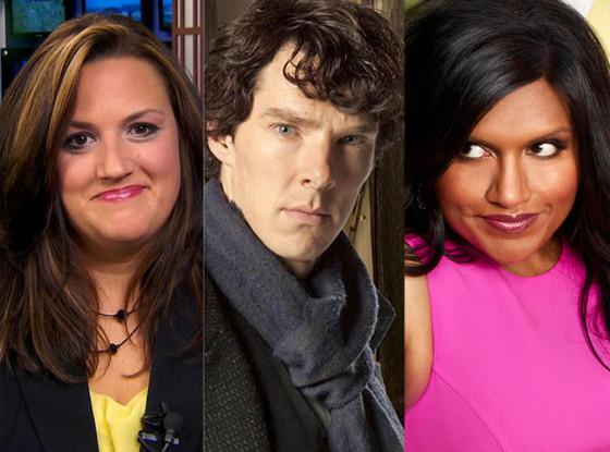 Jennifer Livingston, Benedict Cumberbatch, Mindy Kaling, Mindy Project
