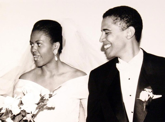 President Barack Obama, Michelle Obama, Wedding