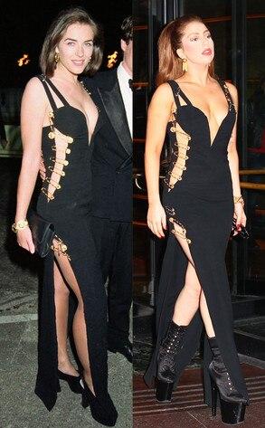 Lady Gaga, Elizabeth Hurley