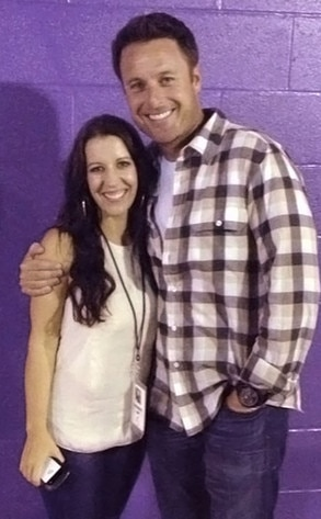Pattie Mallette, Chris Harrison, Twit Pic