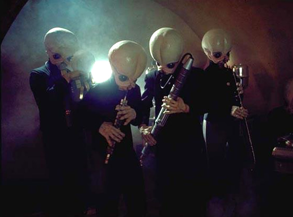 Cantina band, Star Wars, Best Aliens