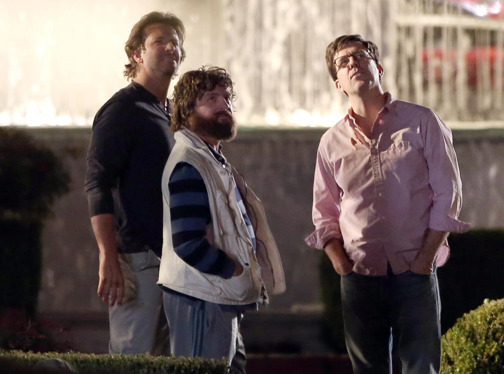 Bradley Cooper, Ed Helms, Zach Galifianakis