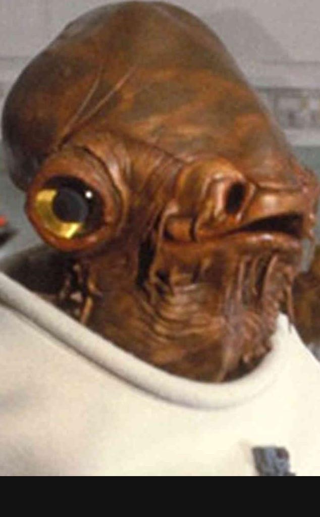 Admiral Ackbar, Star Wars, Best Aliens