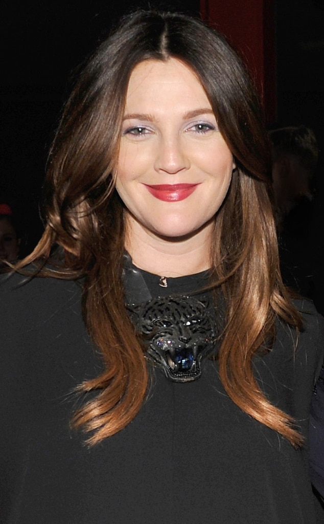 Drew Barrymore From Rich Fall Hair Color E News
