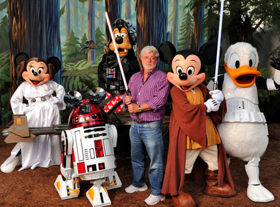 George Lucas, Disney