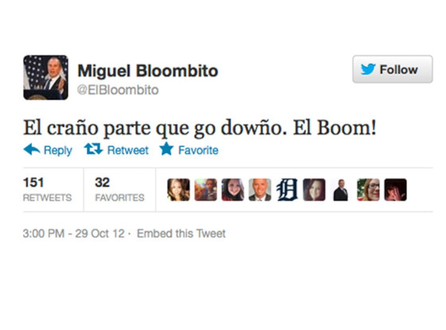 El Bloombito Tweets
