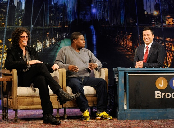 HOWARD STERN, TRACY MORGAN, JIMMY KIMMEL