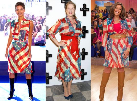 Halle Berry, Meryl Streep, Wendy Williams