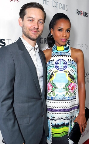 Tobey Maguire, Kerry Washington