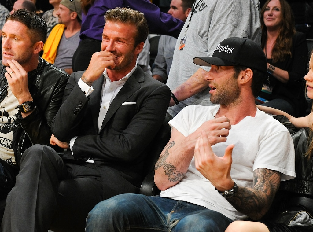 David Beckham, Adam Levine