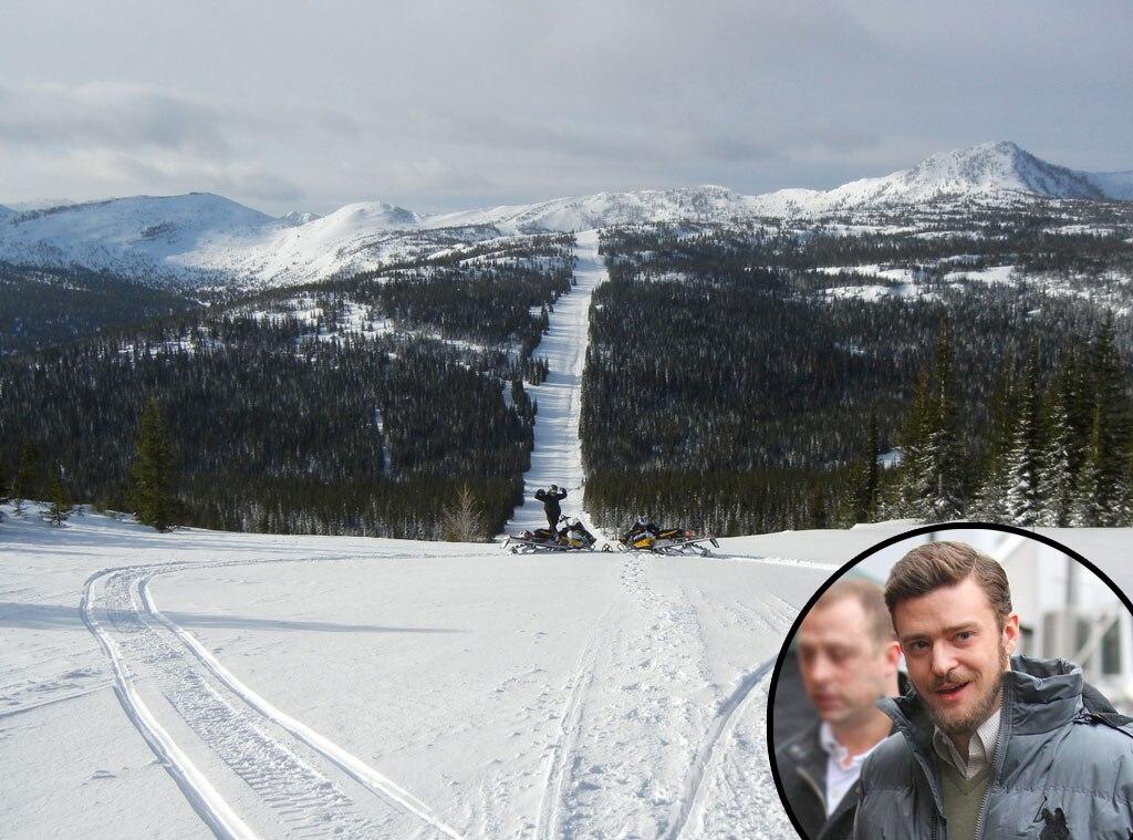 Justin Timberlake, Fernie British Columbia