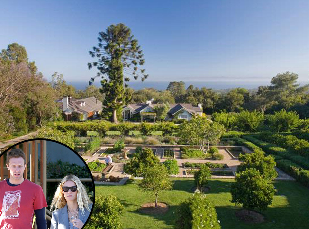 San Ysidro Ranch, Santa Barbara, Gwyneth Paltrow, Chris Martin