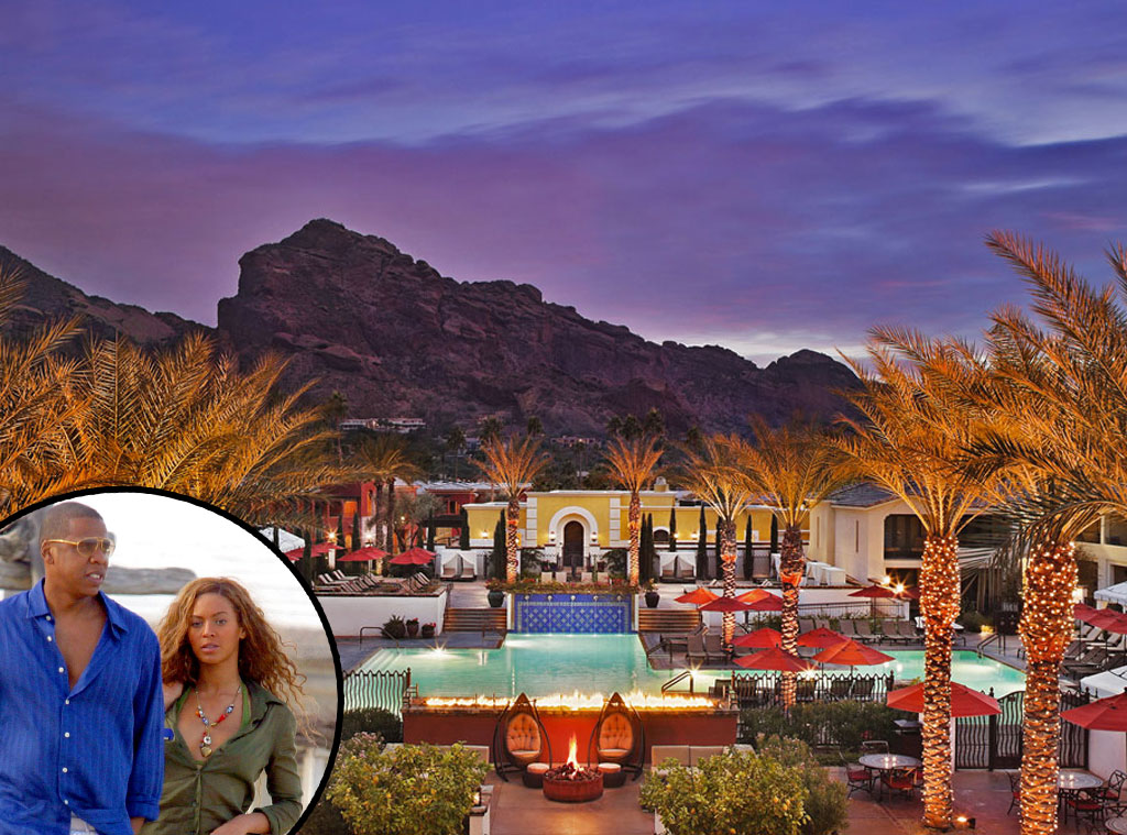 Montelucia Resort, Scottsdale, Arizona, Beyonce, Jay-Z