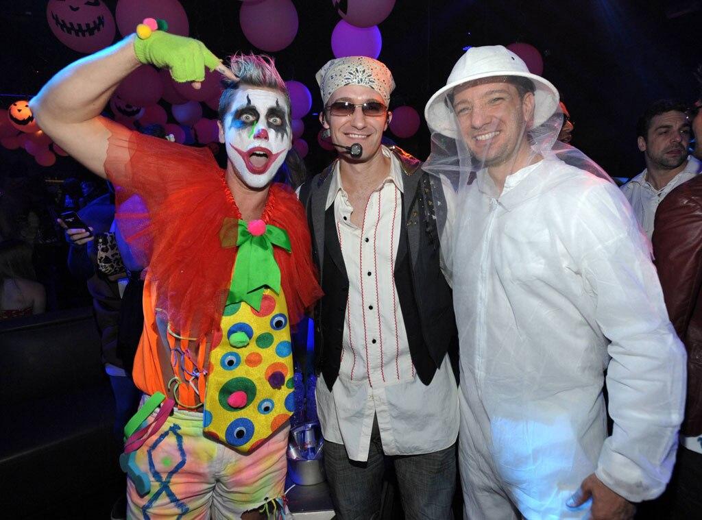 Matthew Morrison, Lance Bass, JC Chavez