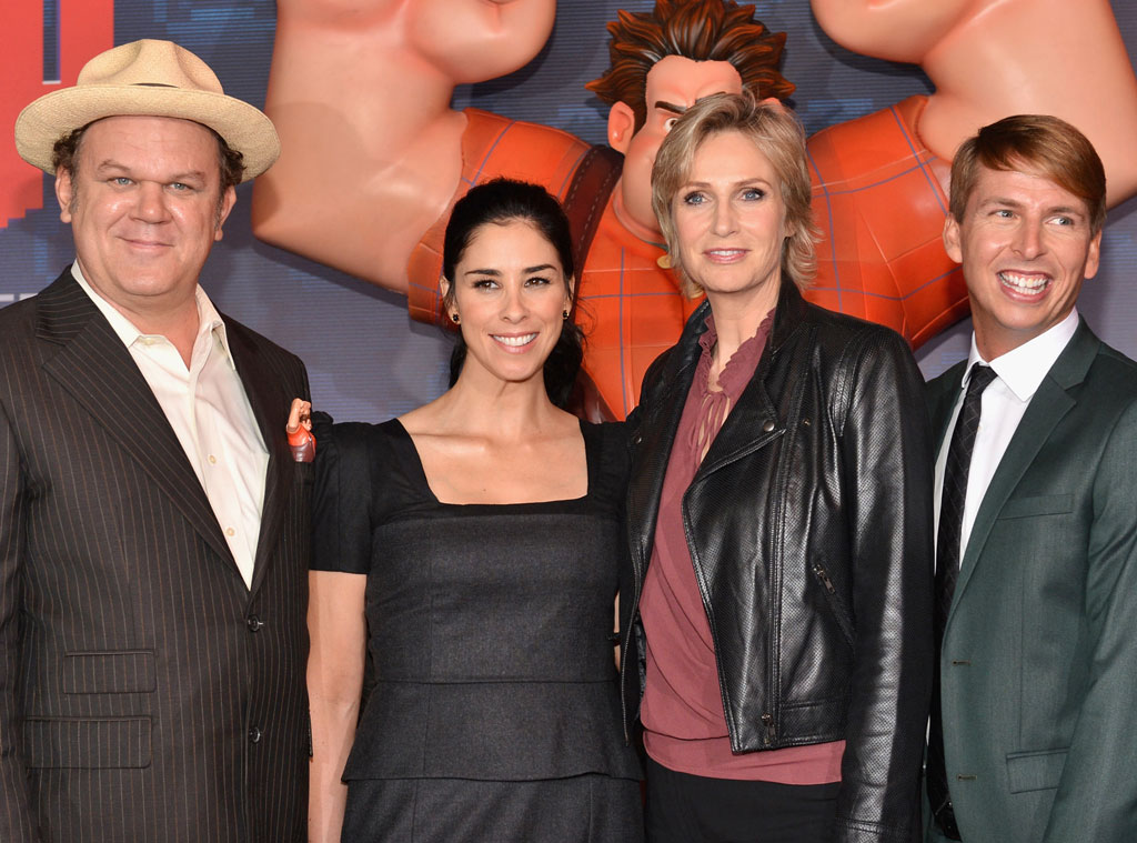 John C. Reilly, Sarah Silverman, Jane Lynch, Jack McBrayer