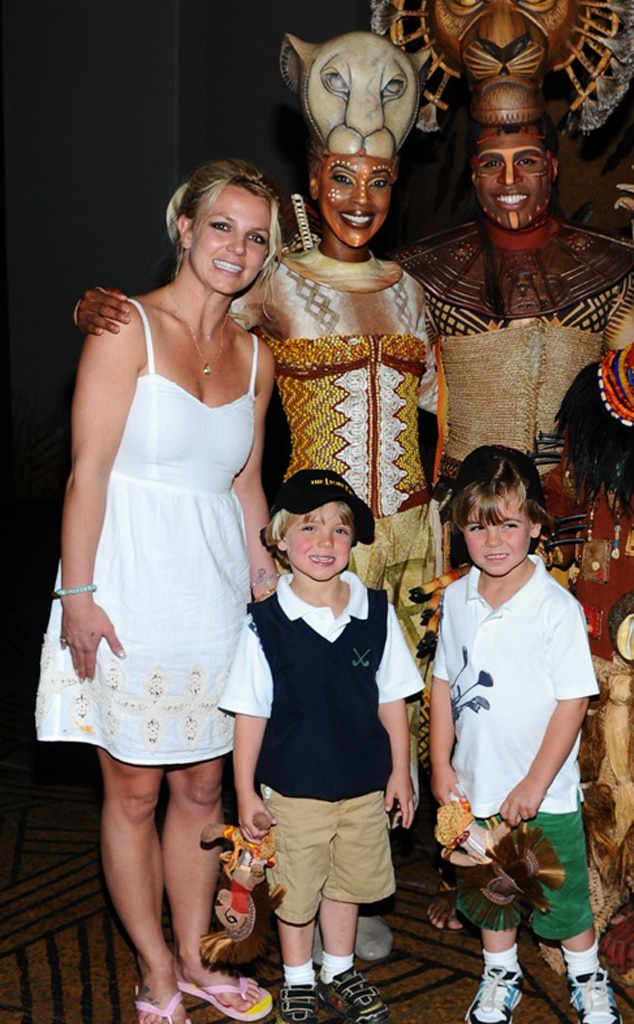 Britney Spears, Sean, Jayden