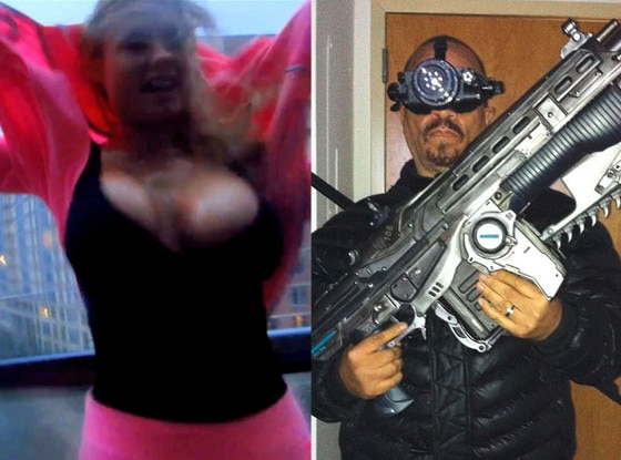 Coco, Ice-T, Halloween, Hurricane Sandy