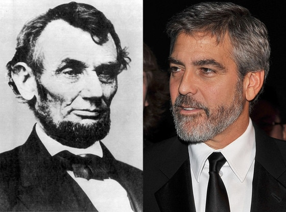 George Clooney Is Related To The President Lincoln That