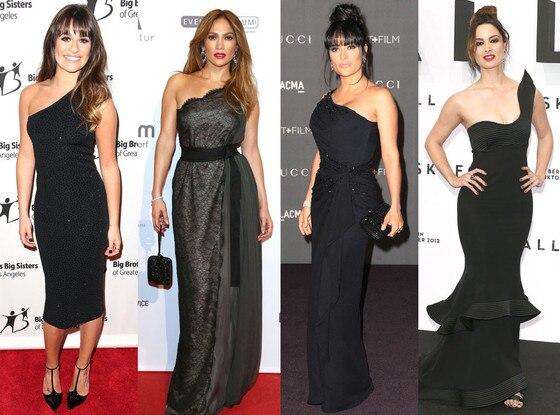One Shoulder Dresses Trend
