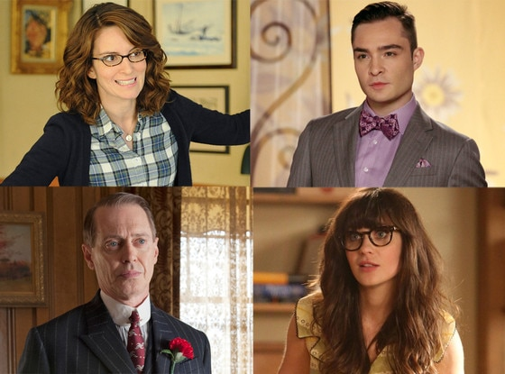 Tina Fey, 30 Rock Steve Buschemi, Boardwalk Empire Zooey Deschanel, New Girl Ed Westwick, Gossip Girl