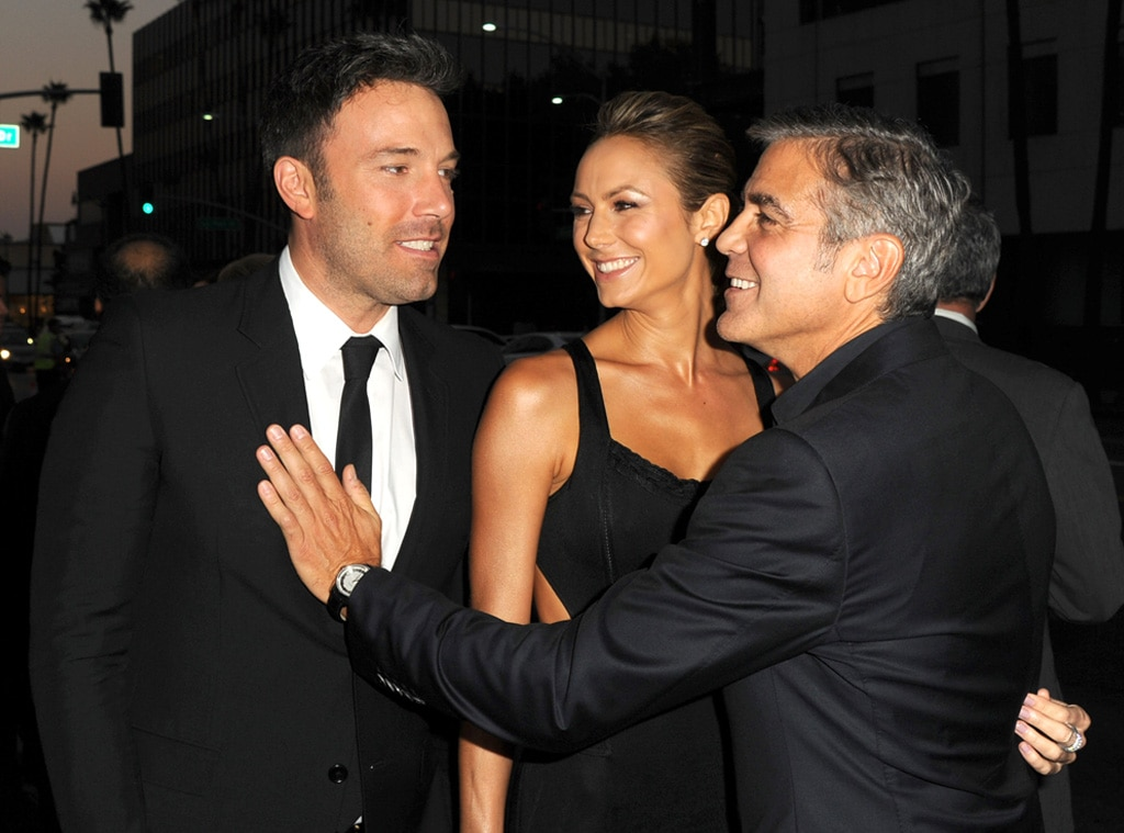 Ben Affleck, Stacy Keibler, George Clooney