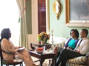 Oprah Winfrey, Barack Obama, Michelle Obama