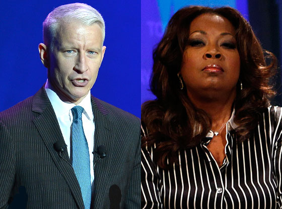 Star Jones, Anderson Cooper