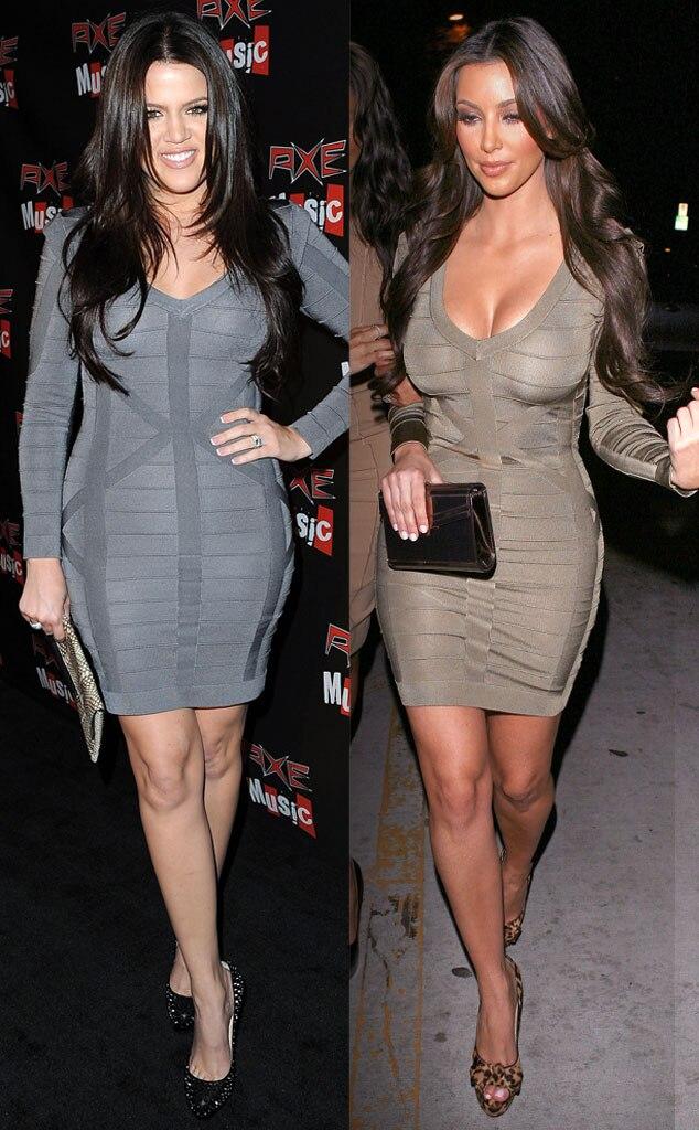 Khloe Kardahian, Kim Kardashian