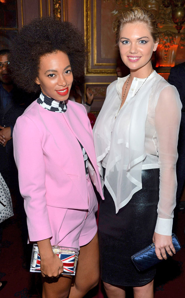 Solange Knowles, Kate Upton