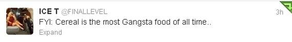 Ice-T Tweets ILC X8