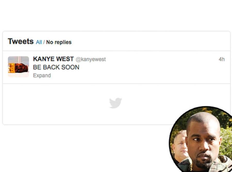 Kanye West, Twitter