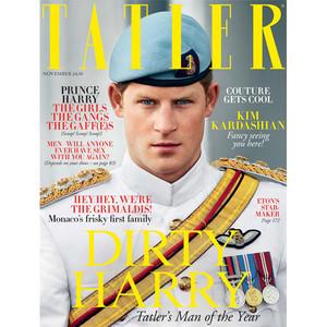 Prince Harry's Naked Scandal Helps Him Get Named <i>Tatler</i>'s Man of the Year