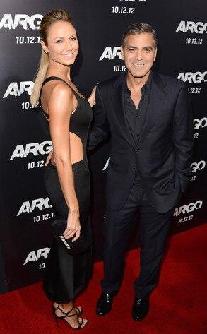 Stecy Keibler, George Clooney