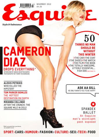 Cameron Diaz, Esquire UK